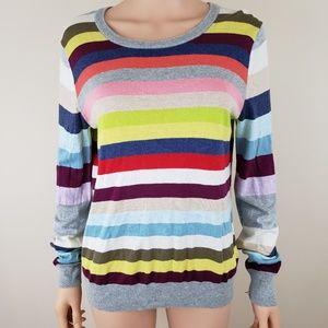 Gap lightweight sweater stripes size L